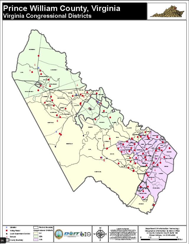 2014 election -congressional districts in prince william country